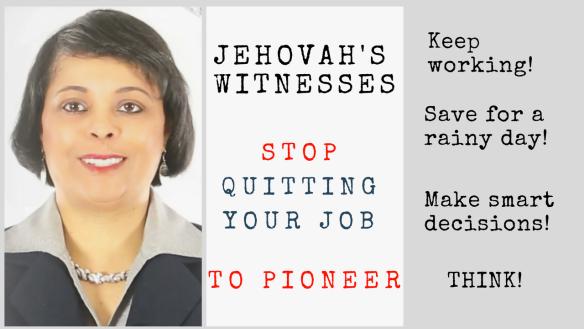 Jehovah's Witness Quit Jobquit job