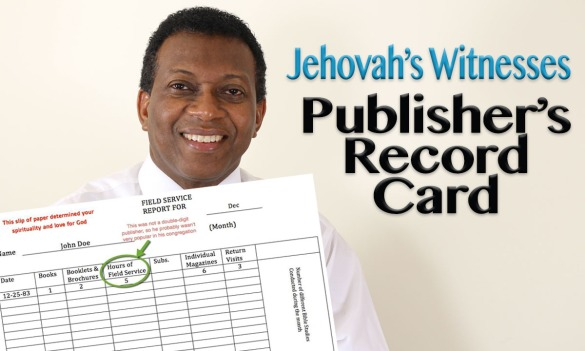Publishers Record Card
