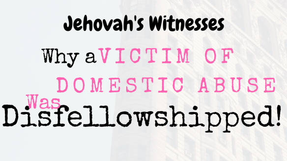 Jehovah Witness Domestic Abuse