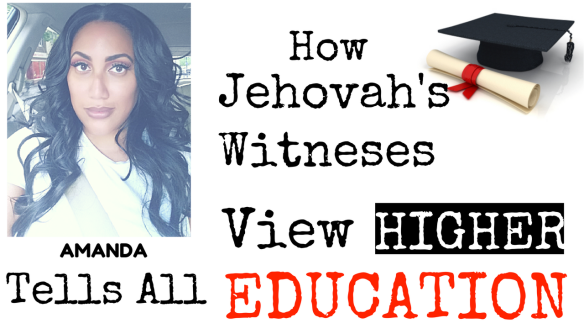 Jehovah Witness Education 2