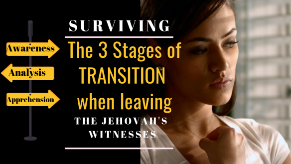 The 3 Stages of transition