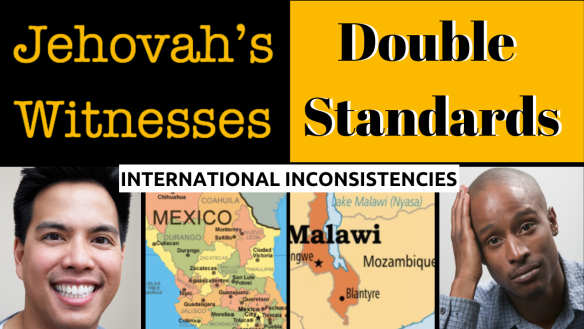Jehovah's Witness Double Standards